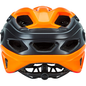 MET Lupo Helmet matt orange/black